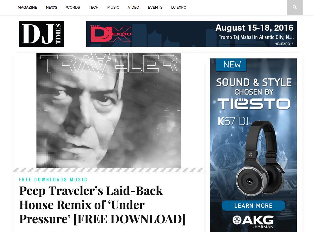 DJ Times Traveler