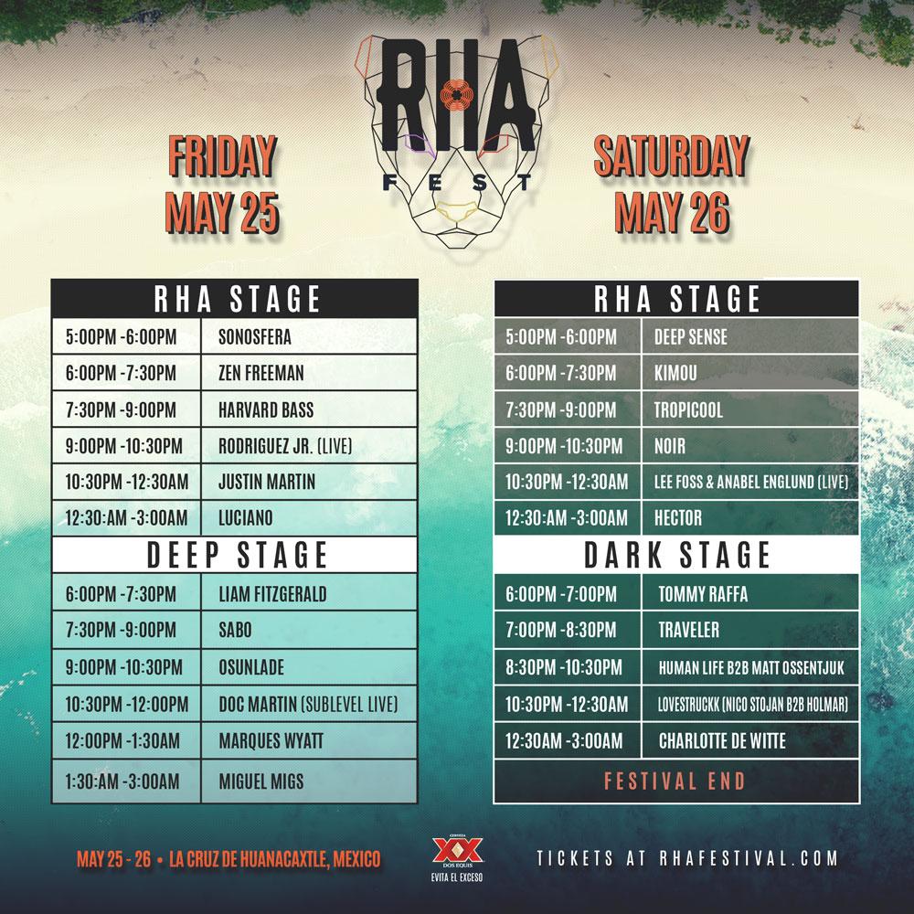 RHA Festival Traveler