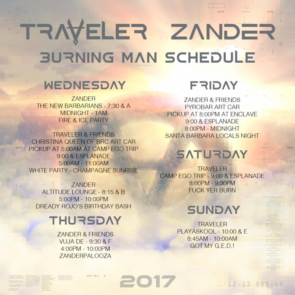 Traveler Burning Man 2017